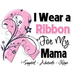 Mama Pink Ribbon Breast Cancer Shirts