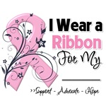 Pink Ribbon Support Breast Cancer Shirts