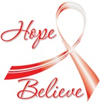 Hope Believe Oral Cancer Shirts