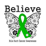 Believe - Bile Duct Cancer Shirts and Gifts
