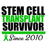 Stem Cell Transplant Survivor Since 2010 Shirts