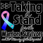 Taking a Stand Thyroid Cancer Shirts
