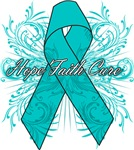 Ovarian Cancer Flourish Shirts and Gifts