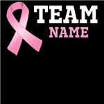 Custom Team Breast Cancer Shirts