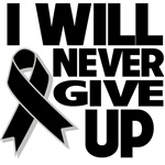 I Will Never Give Up Melanoma Shirts