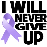 I Will Never Give Up General Cancer Shirts