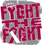 Fight The Fight Head Neck Cancer Shirts
