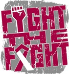 Fight The Fight Throat Cancer Shirts