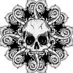 Ornate Gothic Skull