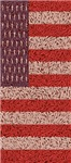 Rice Kernels American Flag