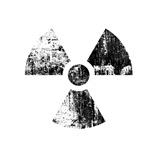 Vintage Radioactive Sign