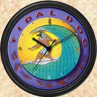 Tidal Dog Clocks