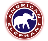 American Elephant Logo Items