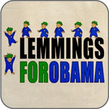 Lemmings for Obama
