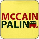 McCain Palin Elephant