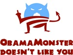 Obama Monster Doesn't Like You