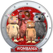 Wombies' Group Portrait Red Version