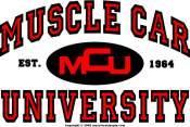 Muscle Car University