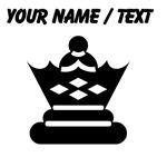 Custom Queen Chess Piece
