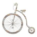 Retro Bicycle Silhouette - squares