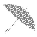 Umbrella Silhouette - flowers