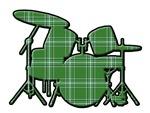 Plaid Drumset