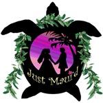 Just Maui'd Honu Logo