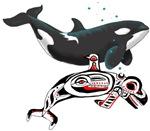 Northwest Tribal Orcas