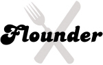 Flounder (fork and knife)