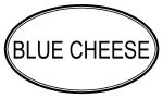 BLUE CHEESE (oval)