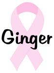 Ginger pink ribbon