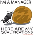 I am a Manager- Dung Beetle