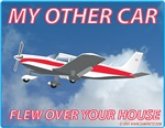 My Other Car Flew Over Your House- Piper