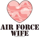 Air Force Wife Pink Camo