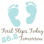 Baby Steps 26.2 Tomorrow Marathon Baby Gifts