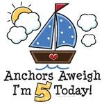 5th Birthday Sailboat Nautical Theme Party Ideas
