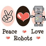 Robot T-shirt Tees and Gifts