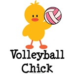 Volleyball Chick T-shirt Tees and Gifts