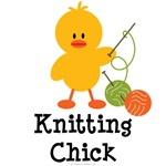 Knitting Chick T shirts and Knitter Gifts
