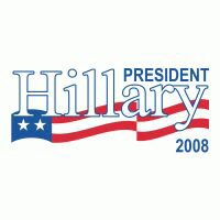 HILLARY CLINTON PRESIDENT 2008