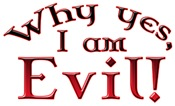 Pure Evil Designs on T-shirts & Gifts