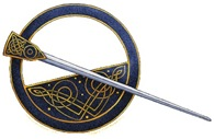 Celtic Brooch Image on T-Shirts and Gifts