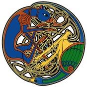 Celtic Hound & Bird Knot T-Shirts & Gifts
