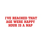 happy hour is a nap