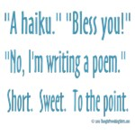 Bless You! Haiku (A Sneeze or a Poem?)