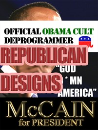 Republican & Anti-Democrat Designs