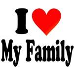 I Love (my Family) T-Shirt