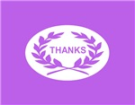 Laurel Wreath Thank You Cards