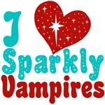 I Love Sparkly Vampires T-shirts