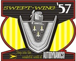 Swept-Wing '57 Dodge - by Clay Wood